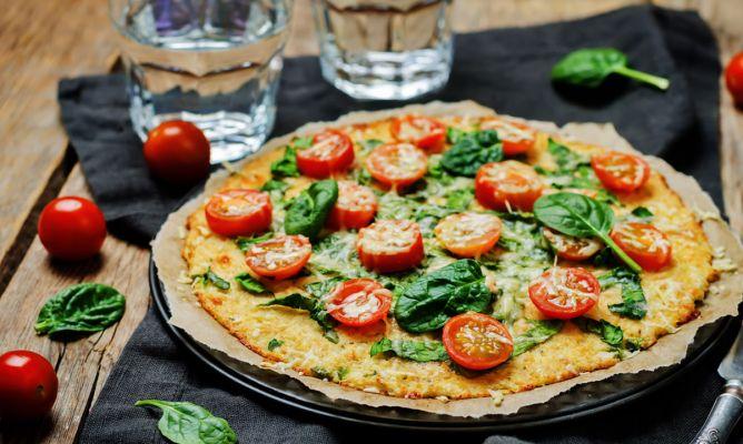Batch cooking recetas pizza